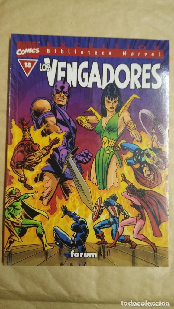 Cómics: LOTE DE 13 EJEMPLARES DE LA COLECCION LOS VENGADORES Y 1 DE LOS CUATRO FANTASTICOS - MARVEL/FORUM - Foto 9 - 98882807