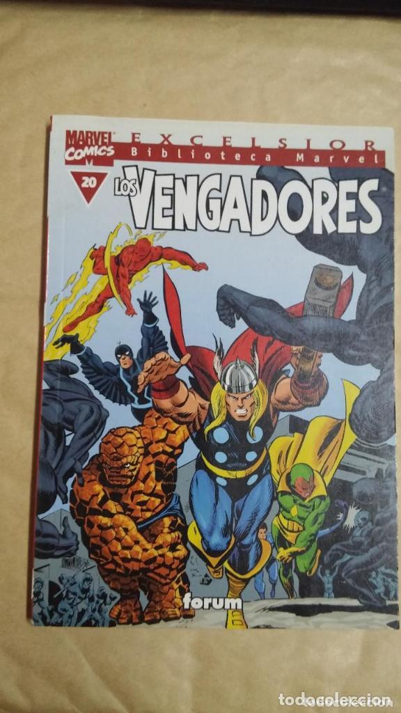 Cómics: LOTE DE 13 EJEMPLARES DE LA COLECCION LOS VENGADORES Y 1 DE LOS CUATRO FANTASTICOS - MARVEL/FORUM - Foto 10 - 98882807