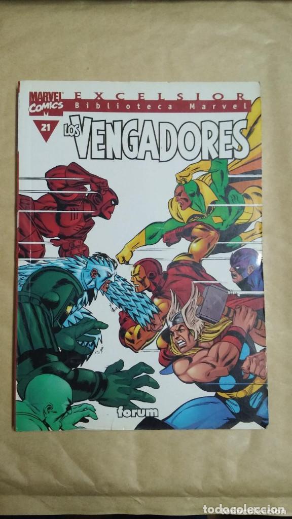 Cómics: LOTE DE 13 EJEMPLARES DE LA COLECCION LOS VENGADORES Y 1 DE LOS CUATRO FANTASTICOS - MARVEL/FORUM - Foto 11 - 98882807