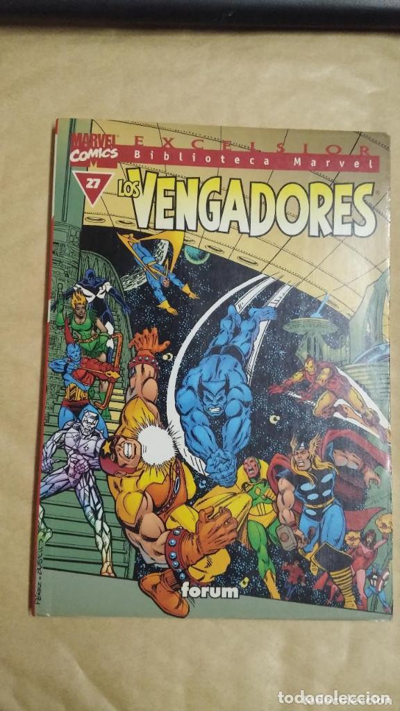 Cómics: LOTE DE 13 EJEMPLARES DE LA COLECCION LOS VENGADORES Y 1 DE LOS CUATRO FANTASTICOS - MARVEL/FORUM - Foto 13 - 98882807