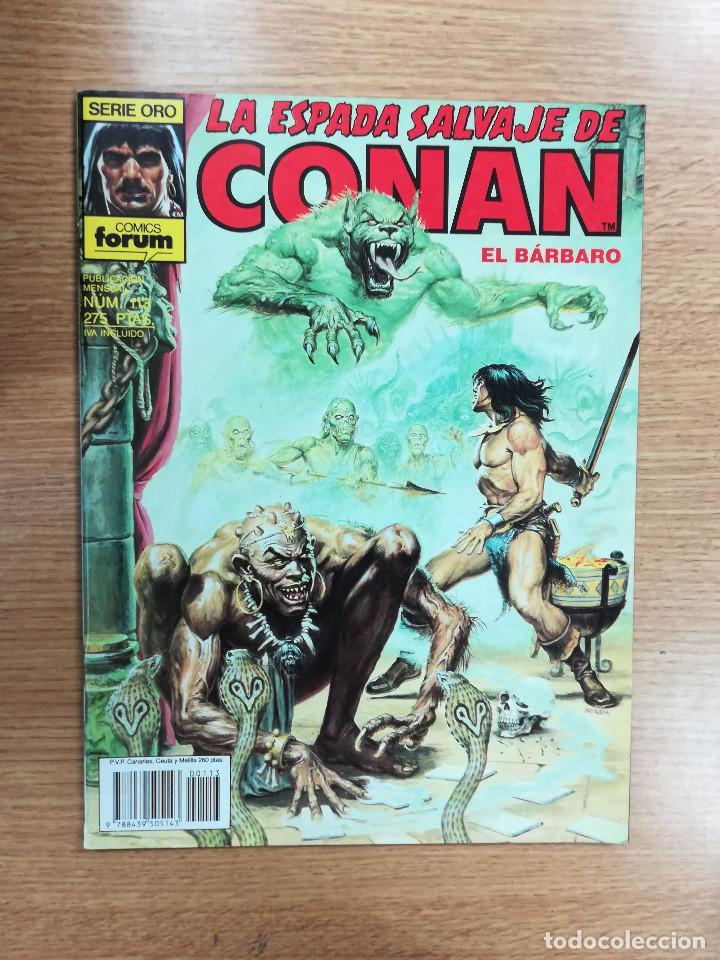 ESPADA SALVAJE DE CONAN VOL 1 #113 (Tebeos y Comics - Forum - Conan)