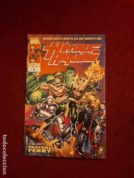 OFERTA HEROES DE ALQUILER - 1 - FORUM - PASCUAL FERRY (Tebeos y Comics - Forum - Otros Forum)