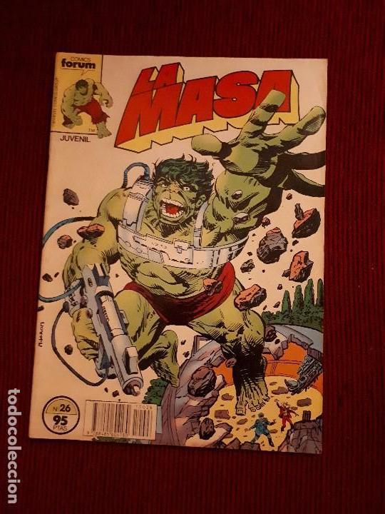 LA MASA VOL I - 26 - FORUM - BUSCEMA - HULK (Tebeos y Comics - Forum - Hulk)