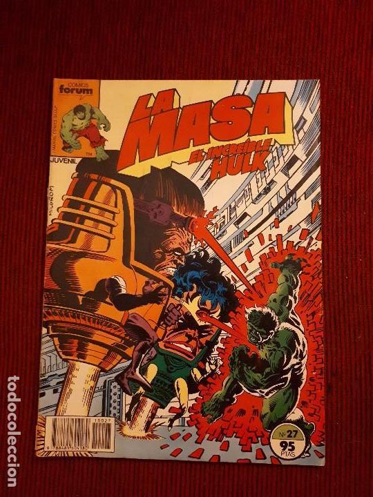 LA MASA VOL I - 27 - FORUM - BUSCEMA - HULK (Tebeos y Comics - Forum - Hulk)
