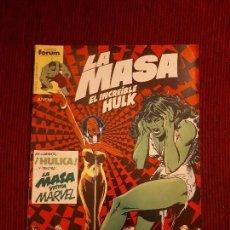 Cómics: LA MASA VOL I - 28 - FORUM - BUSCEMA - HULK. Lote 98979031