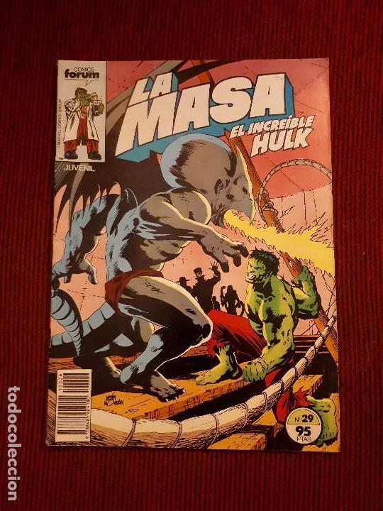 LA MASA VOL I - 29 - FORUM - BUSCEMA - HULK (Tebeos y Comics - Forum - Hulk)