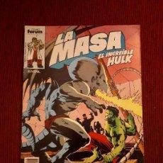 Cómics: LA MASA VOL I - 29 - FORUM - BUSCEMA - HULK. Lote 98979691