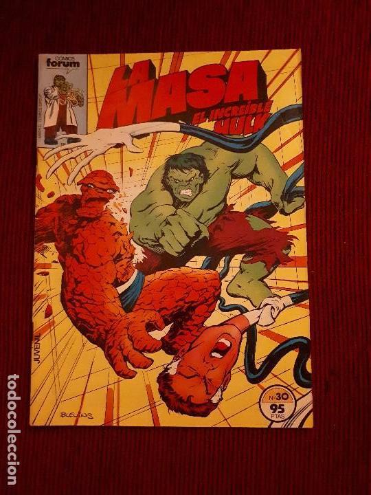 LA MASA VOL I - 30 - FORUM - BUSCEMA - HULK (Tebeos y Comics - Forum - Hulk)