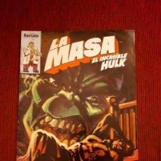 Cómics: LA MASA VOL I - 31 - FORUM - BUSCEMA - HULK. Lote 98979779