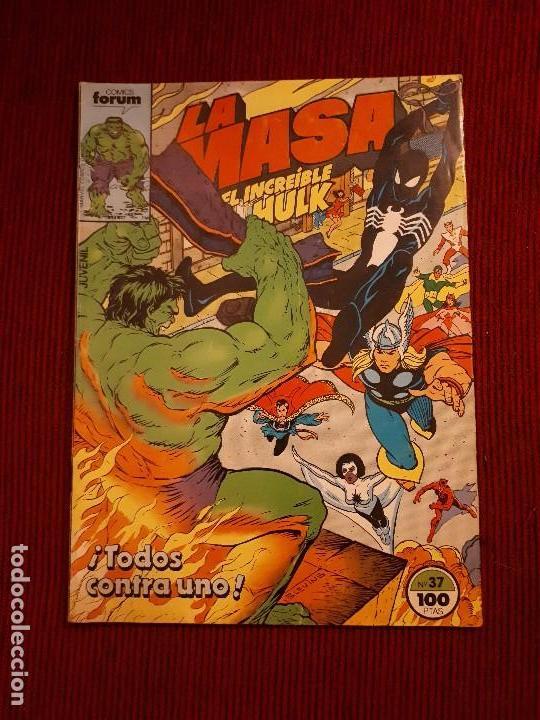 LA MASA VOL I - 37 - FORUM - BUSCEMA - HULK (Tebeos y Comics - Forum - Hulk)