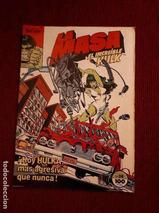 LA MASA VOL I - 38 - FORUM - BUSCEMA - HULKA SHE-HULK (Tebeos y Comics - Forum - Hulk)