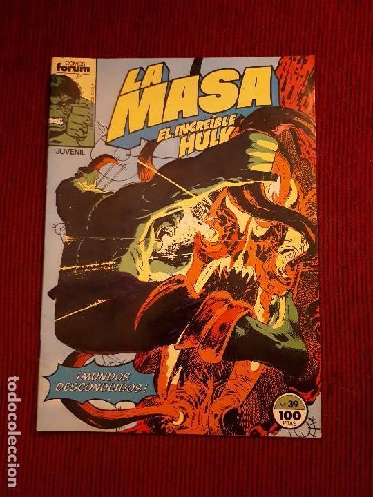LA MASA VOL I - 39 - FORUM - BUSCEMA - HULK (Tebeos y Comics - Forum - Hulk)