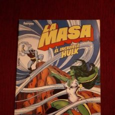 Cómics: LA MASA VOL I - 41 - FORUM - BILL MANTLO - HULK. Lote 98980255