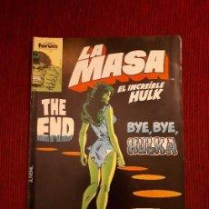 Cómics: LA MASA VOL I - 48 - FORUM - BUSCEMA - HULK. Lote 98980747