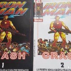 Cómics: IRON MAN: CRASH (OBRA COMPLETA 2 NÚMEROS) - FORUM. Lote 288365328