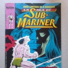 Cómics: LA SAGA DE SUB MARINER Nº4 DE 8 COMICS FORUM. Lote 99069603