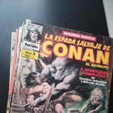 Cómics: LOTE ESPADA SALVAJE DE CONAN 17 Nº. Lote 99097279