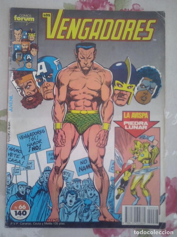 FORUM - VENGADORES VOL1 NUM. 66 (Tebeos y Comics - Forum - Vengadores)