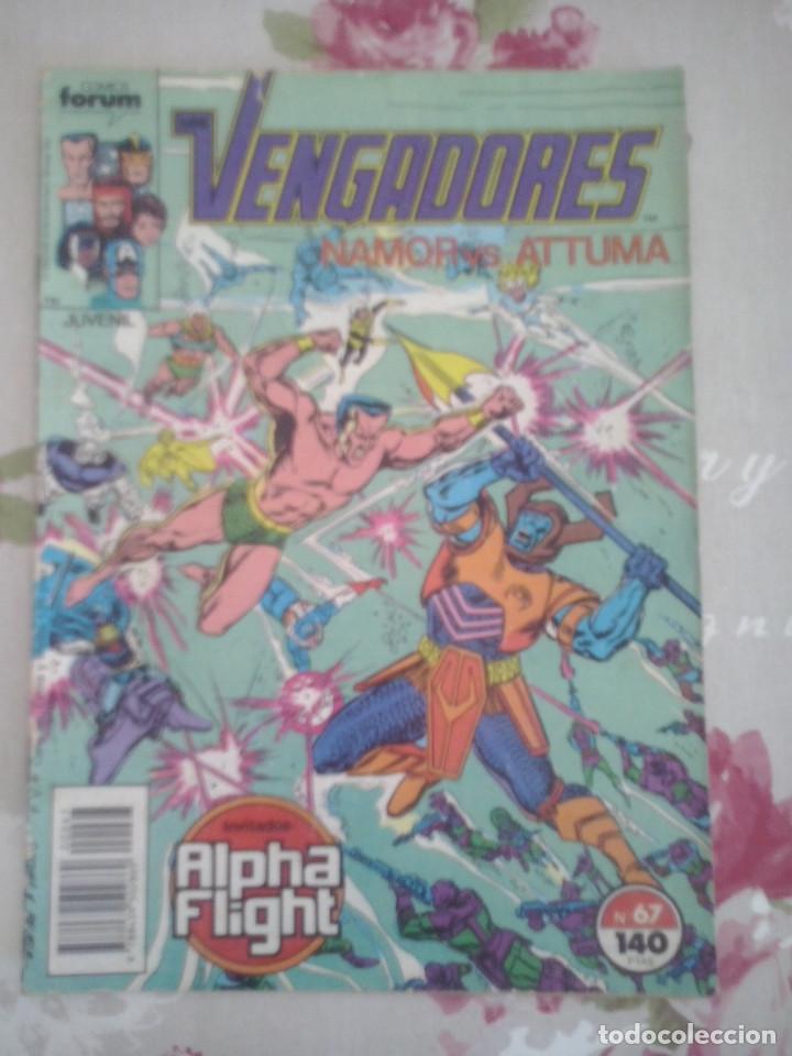 FORUM - VENGADORES VOL1 NUM. 67 (Tebeos y Comics - Forum - Vengadores)