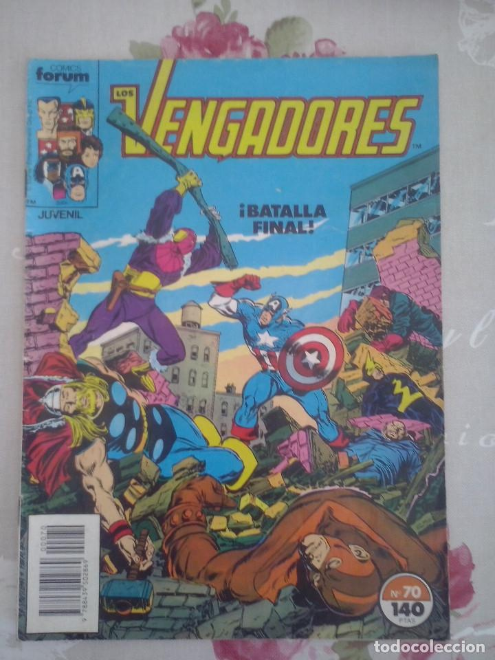 Cómics: FORUM - VENGADORES VOL1 NUM. 70 - Foto 1 - 99337683