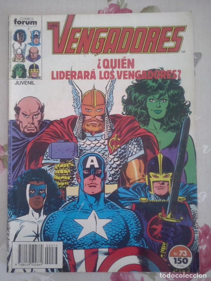 FORUM - VENGADORES VOL1 NUM. 73 (Tebeos y Comics - Forum - Vengadores)
