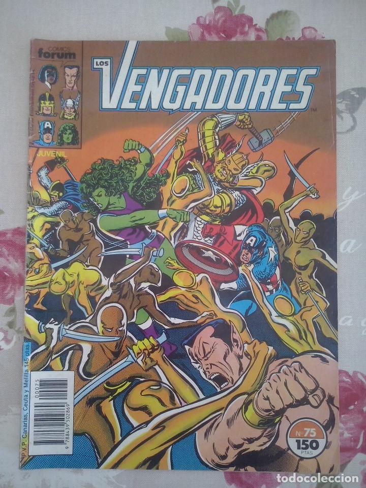 FORUM - VENGADORES VOL1 NUM. 75 (Tebeos y Comics - Forum - Vengadores)