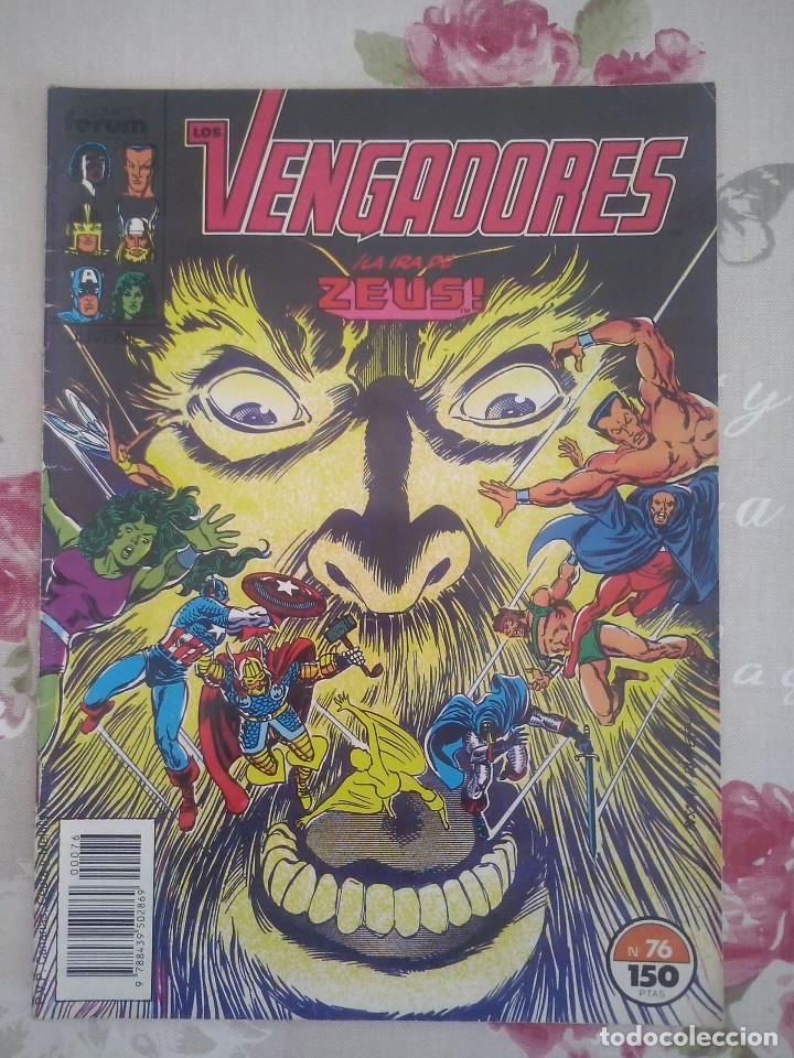 FORUM - VENGADORES VOL1 NUM. 76 (Tebeos y Comics - Forum - Vengadores)