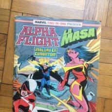 Cómics: ALPHA FLIGHT LA MASA 61. Lote 99379650