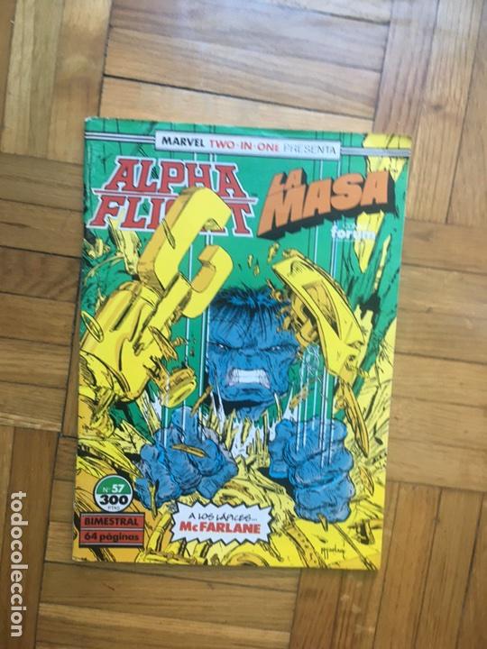 ALPHA FLIGHT LA MASA 57 (Tebeos y Comics - Forum - Alpha Flight)