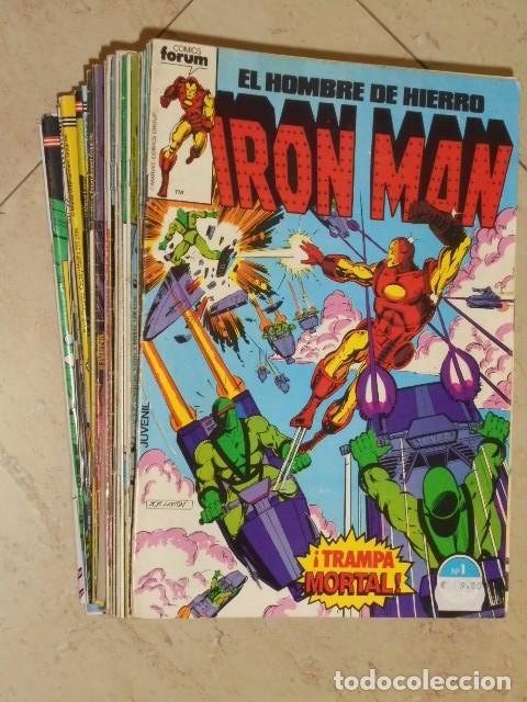 IRON MAN VOL. 1 CASI COMPLETA A FALTA DE LOS NUMS. 2, 3, 4 Y 6 - FORUM OFERTA (Tebeos y Comics - Forum - Iron Man)