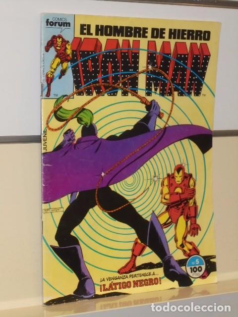 Cómics: IRON MAN VOL. 1 CASI COMPLETA A FALTA DE LOS NUMS. 2, 3, 4 Y 6 - FORUM OFERTA - Foto 10 - 243381455