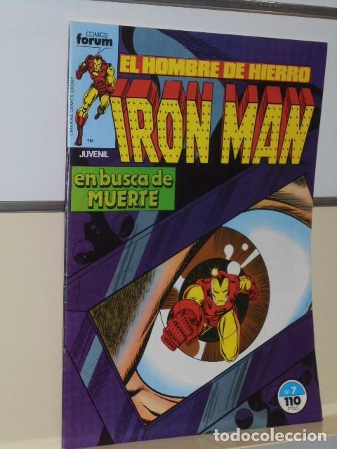 Cómics: IRON MAN VOL. 1 CASI COMPLETA A FALTA DE LOS NUMS. 2, 3, 4 Y 6 - FORUM OFERTA - Foto 11 - 243381455
