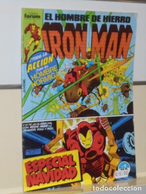 Cómics: IRON MAN VOL. 1 CASI COMPLETA A FALTA DE LOS NUMS. 2, 3, 4 Y 6 - FORUM OFERTA - Foto 13 - 243381455