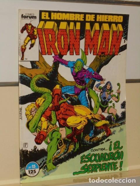 Cómics: IRON MAN VOL. 1 CASI COMPLETA A FALTA DE LOS NUMS. 2, 3, 4 Y 6 - FORUM OFERTA - Foto 19 - 243381455