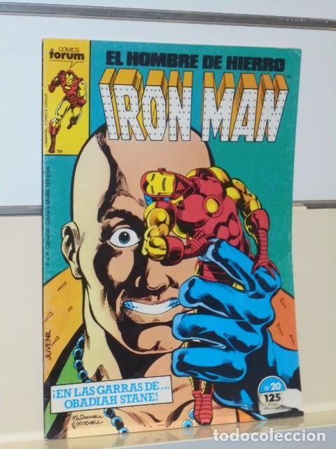 Cómics: IRON MAN VOL. 1 CASI COMPLETA A FALTA DE LOS NUMS. 2, 3, 4 Y 6 - FORUM OFERTA - Foto 24 - 243381455