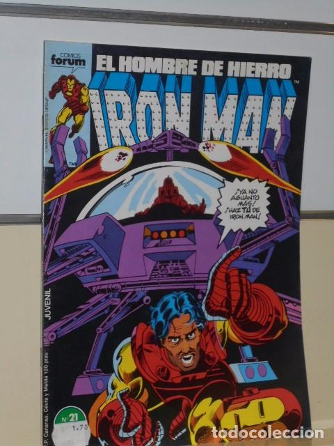 Cómics: IRON MAN VOL. 1 CASI COMPLETA A FALTA DE LOS NUMS. 2, 3, 4 Y 6 - FORUM OFERTA - Foto 25 - 243381455