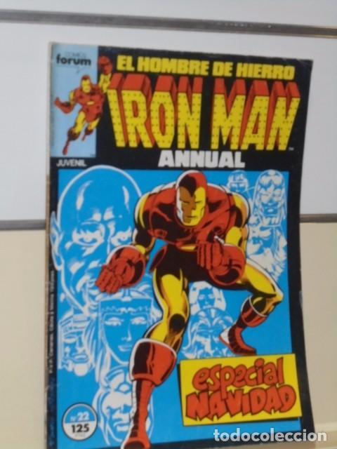 Cómics: IRON MAN VOL. 1 CASI COMPLETA A FALTA DE LOS NUMS. 2, 3, 4 Y 6 - FORUM OFERTA - Foto 26 - 243381455