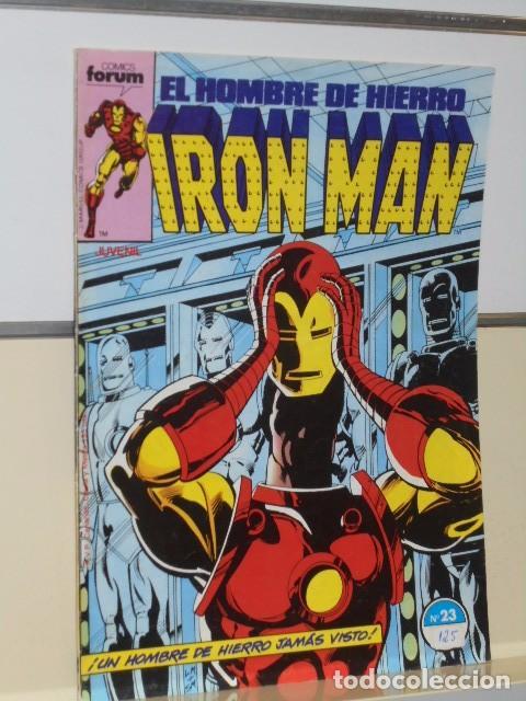 Cómics: IRON MAN VOL. 1 CASI COMPLETA A FALTA DE LOS NUMS. 2, 3, 4 Y 6 - FORUM OFERTA - Foto 27 - 243381455