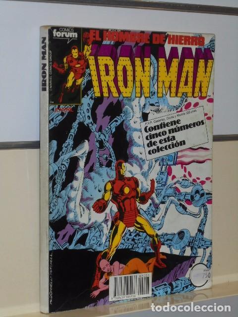 Cómics: IRON MAN VOL. 1 CASI COMPLETA A FALTA DE LOS NUMS. 2, 3, 4 Y 6 - FORUM OFERTA - Foto 30 - 243381455