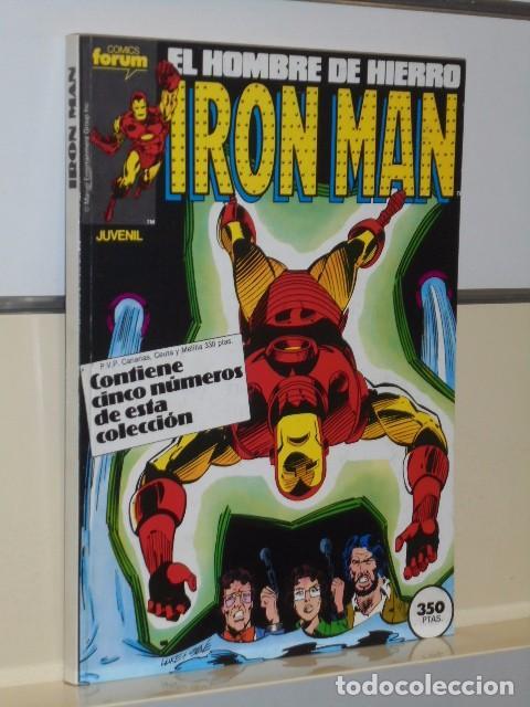 Cómics: IRON MAN VOL. 1 CASI COMPLETA A FALTA DE LOS NUMS. 2, 3, 4 Y 6 - FORUM OFERTA - Foto 31 - 243381455