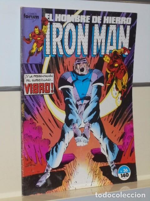 Cómics: IRON MAN VOL. 1 CASI COMPLETA A FALTA DE LOS NUMS. 2, 3, 4 Y 6 - FORUM OFERTA - Foto 32 - 243381455