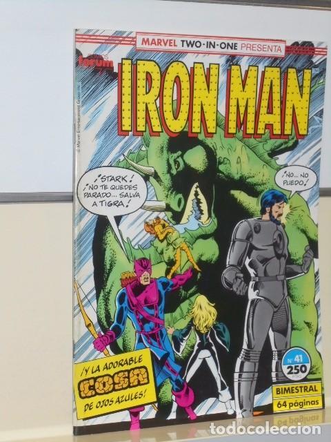 Cómics: IRON MAN VOL. 1 CASI COMPLETA A FALTA DE LOS NUMS. 2, 3, 4 Y 6 - FORUM OFERTA - Foto 37 - 243381455