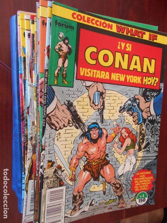 COLECCION WHAT IF VOLUMEN 1 - COMPLETA - 70 NUMEROS - LEER DESCRIPCION - FORUM (7I) (Tebeos y Comics - Forum - Otros Forum)
