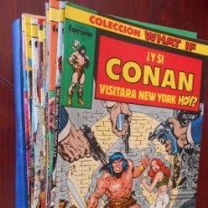 Cómics: COLECCION WHAT IF VOLUMEN 1 - COMPLETA - 70 NUMEROS - LEER DESCRIPCION - FORUM (7I). Lote 99726975