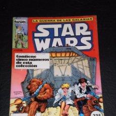 Cómics: STAR WARS , LA GUERRA DE LAS GALAXIAS ,TOMO RETAPADO FORUM 1986 Nº 1 A 5. Lote 99757335