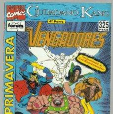 Cómics: LOS VENGADORES EXTRA DE PRIMAVERA CIUDADANO KANG - MARVEL FORUM . Lote 99783523
