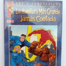 Cómics: LOS 4 FANTÁSTICOS LA AVENTURA MÁS GRANDE JAMÁS CONTADA. FORUM. COLECCIÓN COMPLETA. 3 NÚMEROS. 2001-2. Lote 99788747