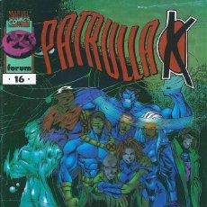 Cómics: LA PATRULLA X VOLUMEN 2 NUMERO 16. Lote 99824463