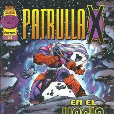Cómics: LA PATRULLA X VOLUMEN 2 NUMERO 21. Lote 99824711