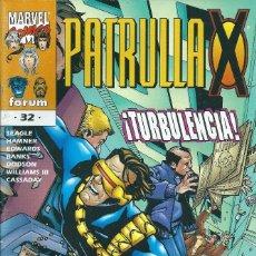 Cómics: LA PATRULLA X VOLUMEN 2 NUMERO 32. Lote 99825207